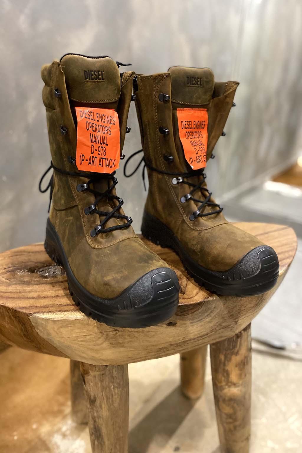 Pánská kožená obuv Diesel H Woodkut Bt