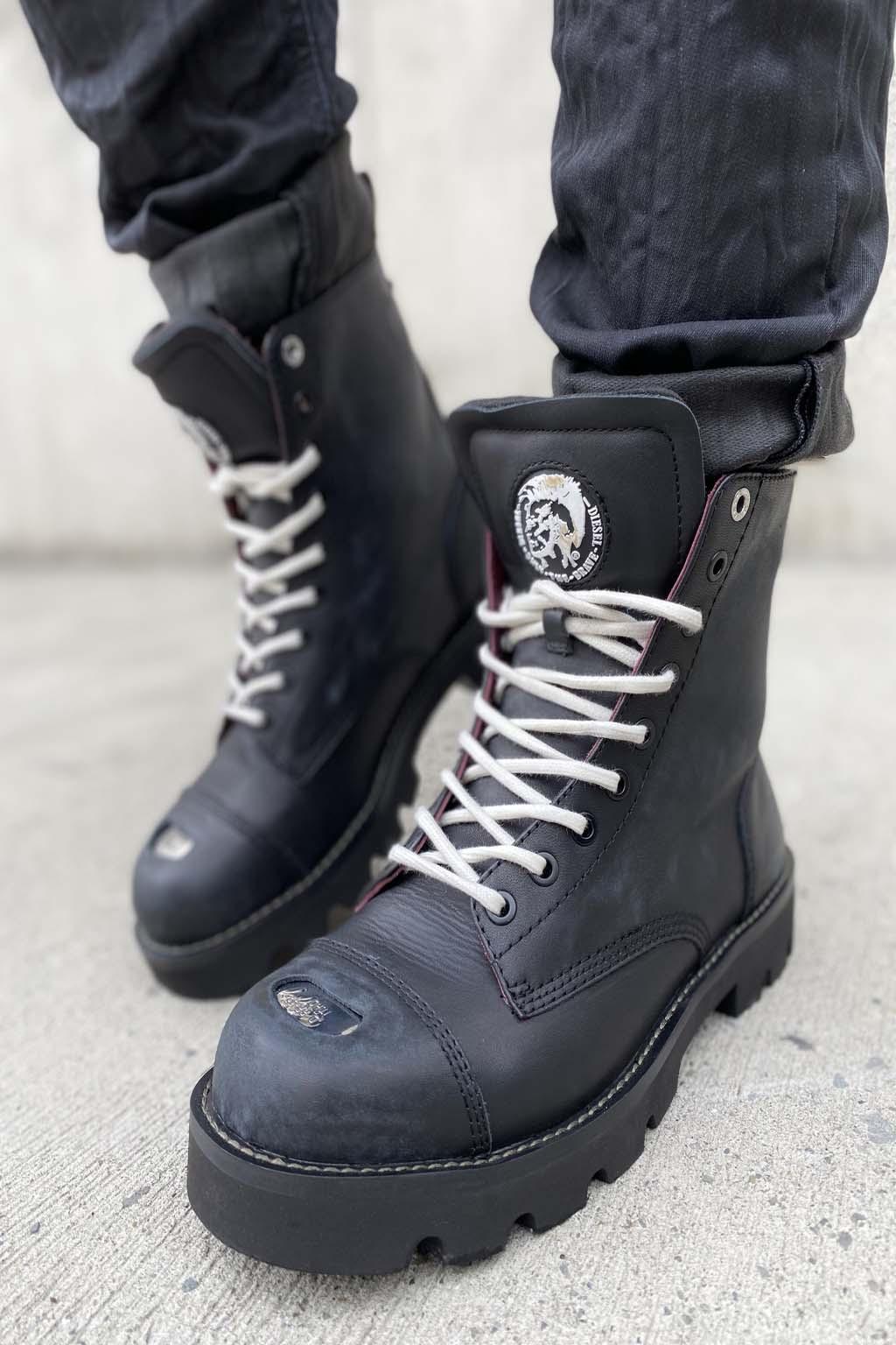 Pánská kožená obuv Diesel D Konba Cb