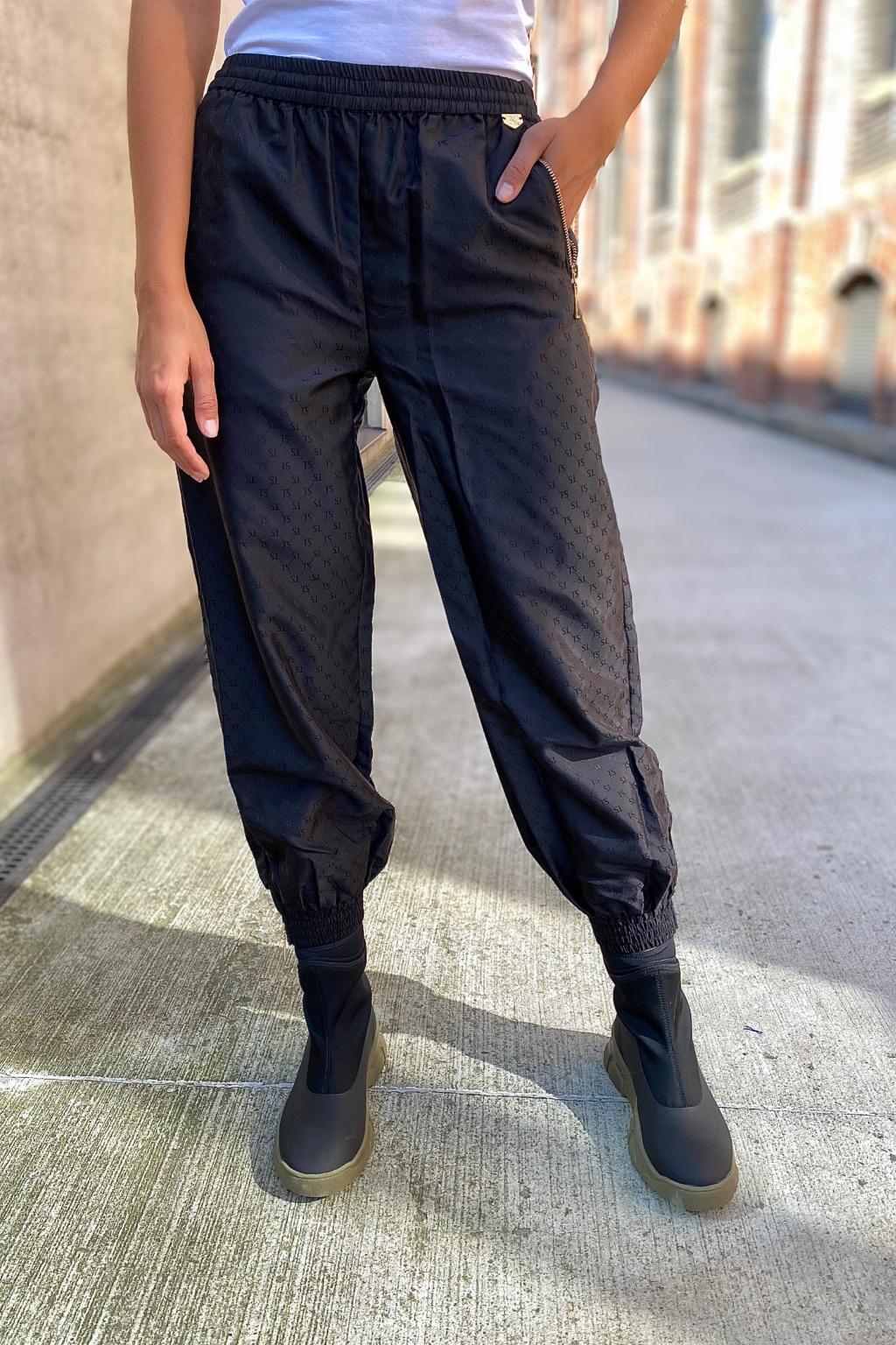 Dámské kalhoty Twinset 212LI2LAA černé2