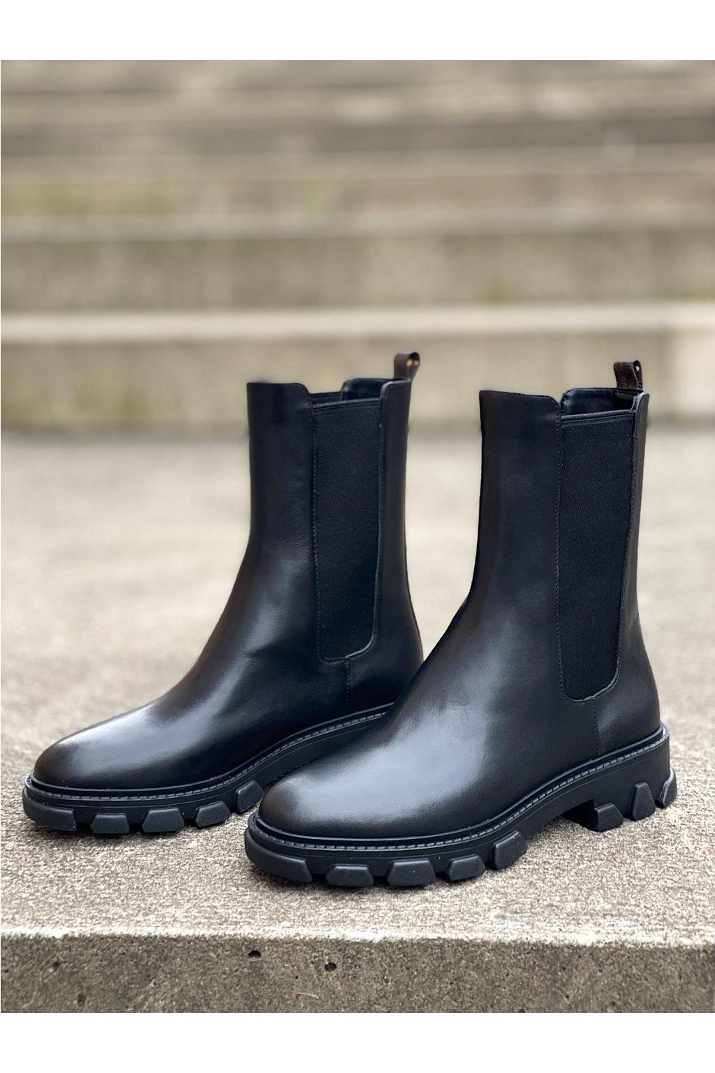 Dámské boty Michael Kors Ridley 40F1RIFE8L černé