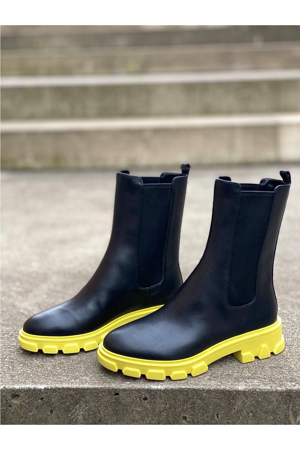 Dámské boty Michael Kors Ridley 40F1RIFE6L černé