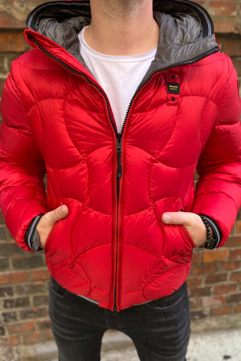 Pánská bunda Blauer 21WBLUC03070 červená