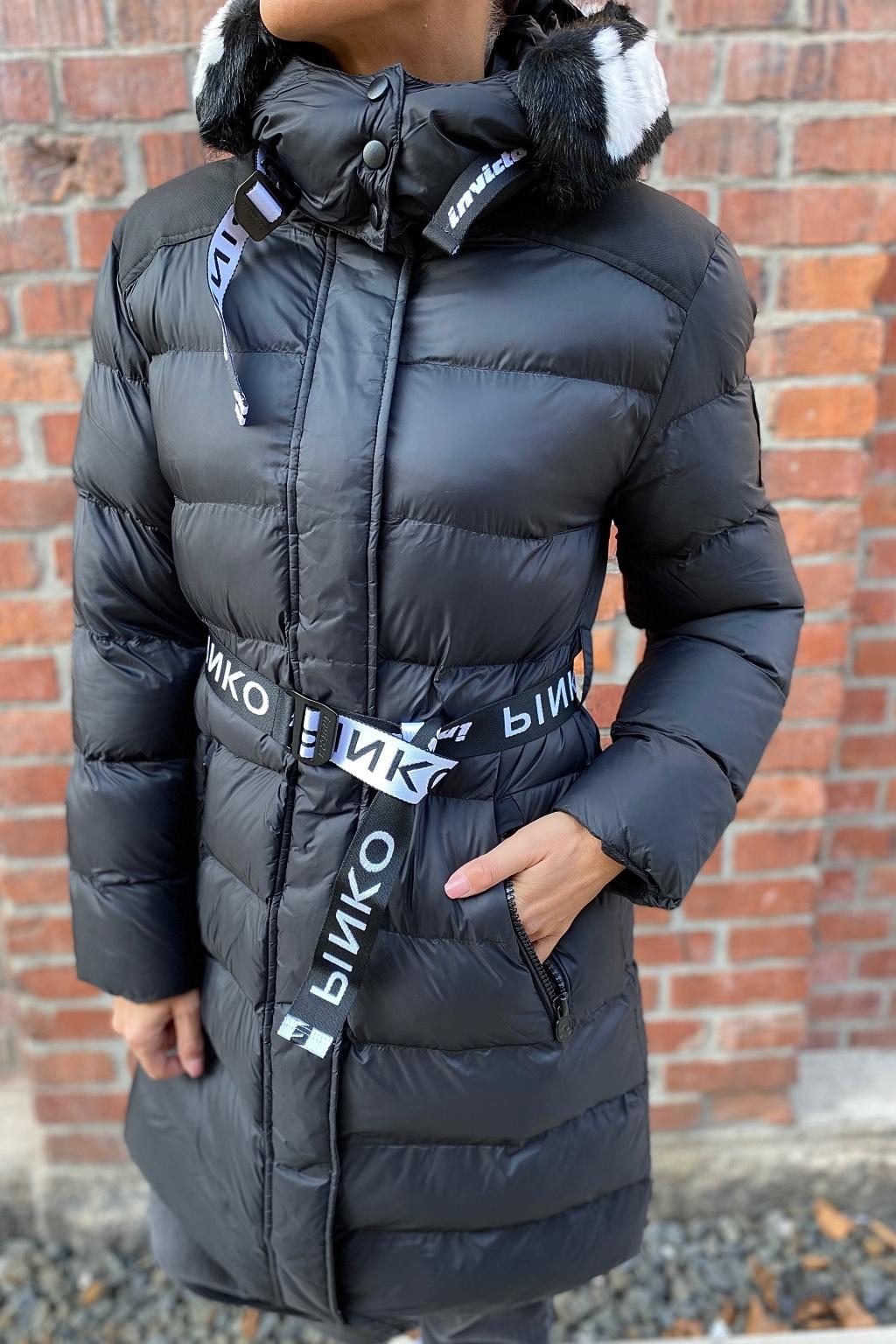 Dámská zimní bunda Pinko 1G16XJY833Z99 černá
