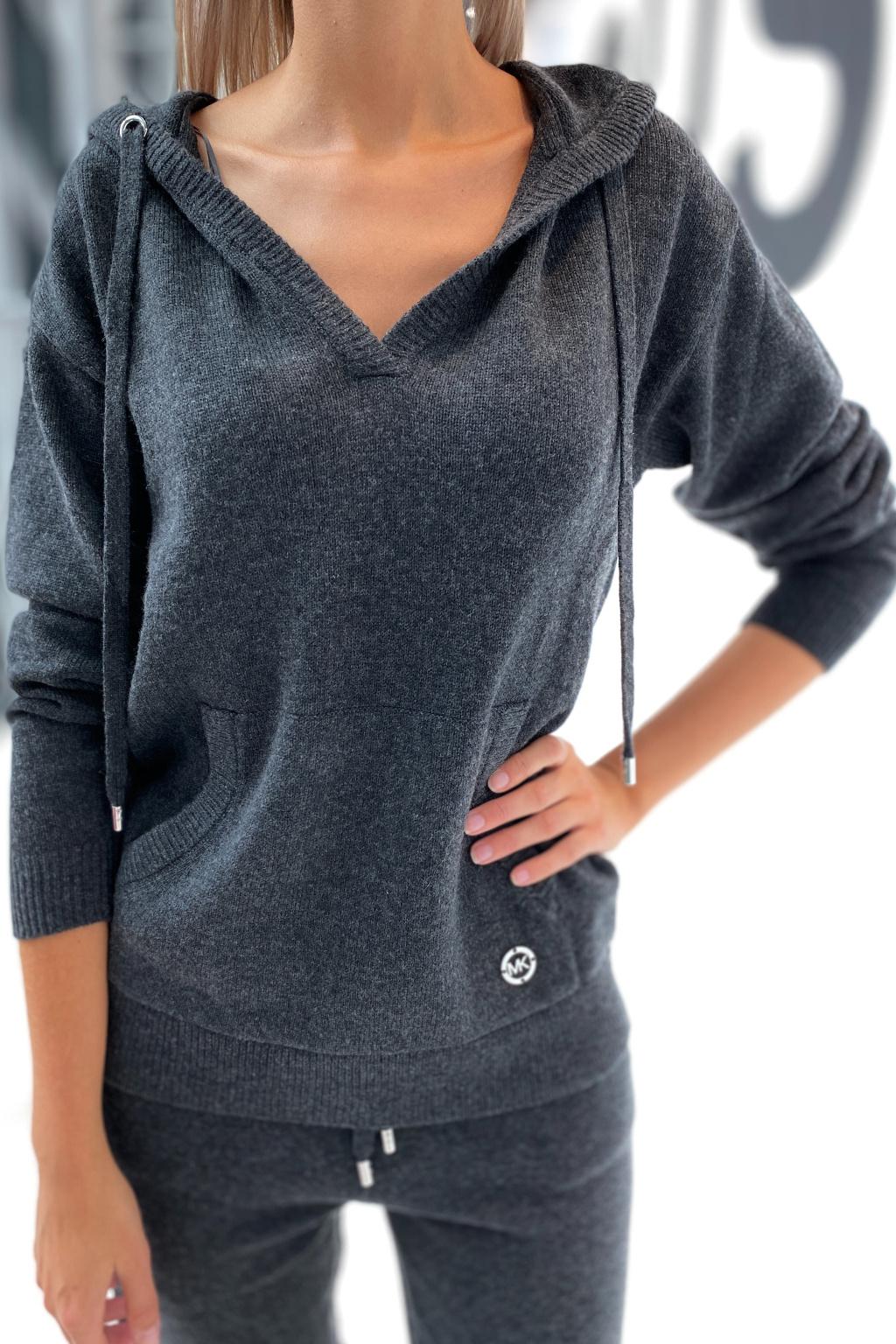 Dámský svetr Michael Kors MU16045CSN šedý