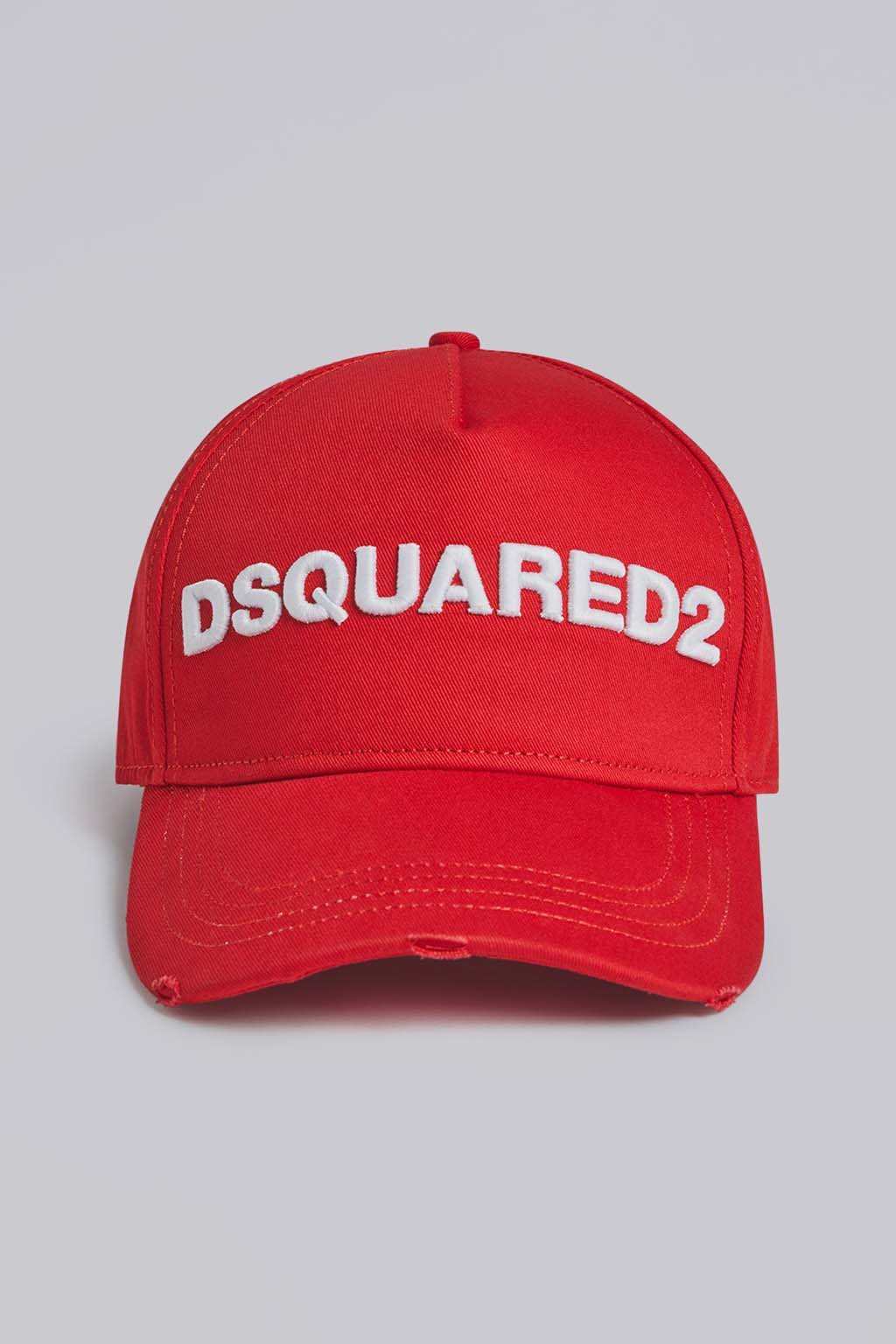 Unisex Baseballka Dsquared2 Basseball Cap červená