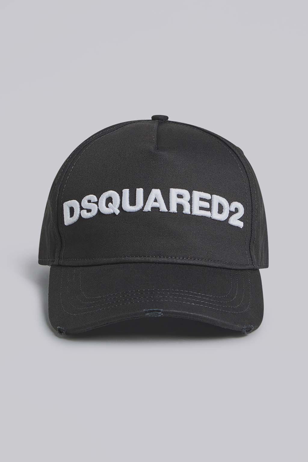 Unisex baseballka Dsquared2 Icon Cap černá1