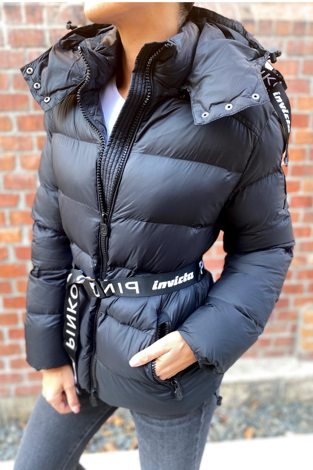 Dámská zimní bunda Pinko 1G16XKY833Z99 černá 5
