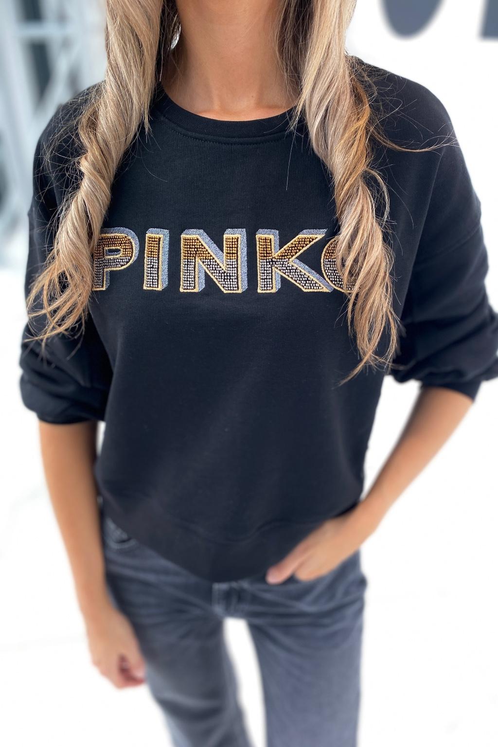Dámská mikina Pinko 1N139LY7XCZ99 černá