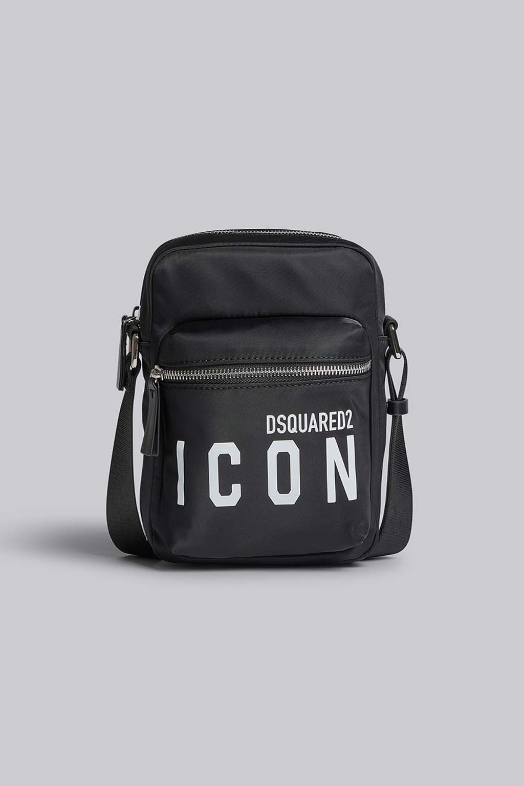 Pánská Crossbody taška Dsquared2 Icon černá