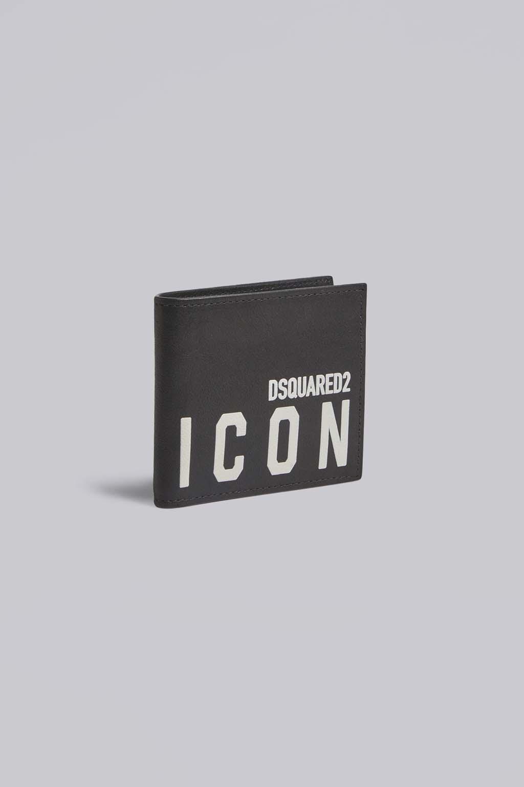 Pánská kožená peněženka Dsquared2 Icon1