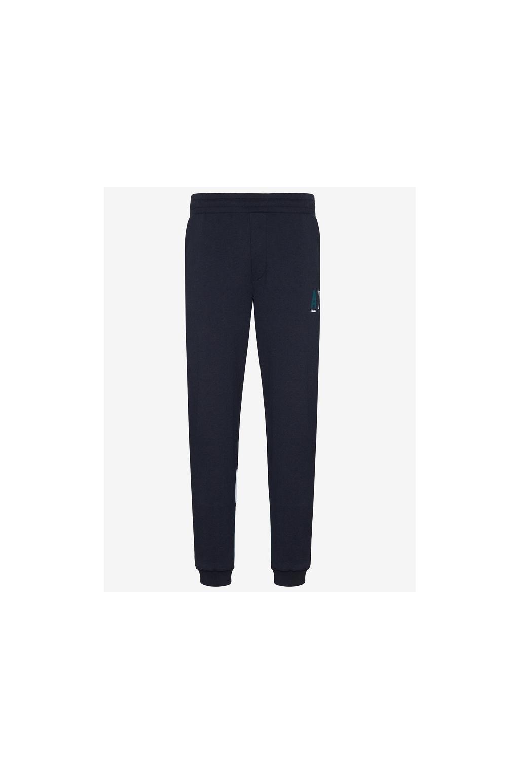 6GZPAE ZJ1IZ Pánské teplákové kalhoty Armani Exchange modré