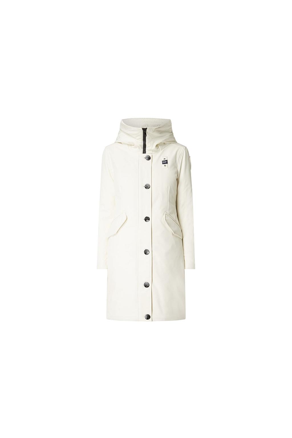 19WBLDK03195 Dámský kabát blauer bílí