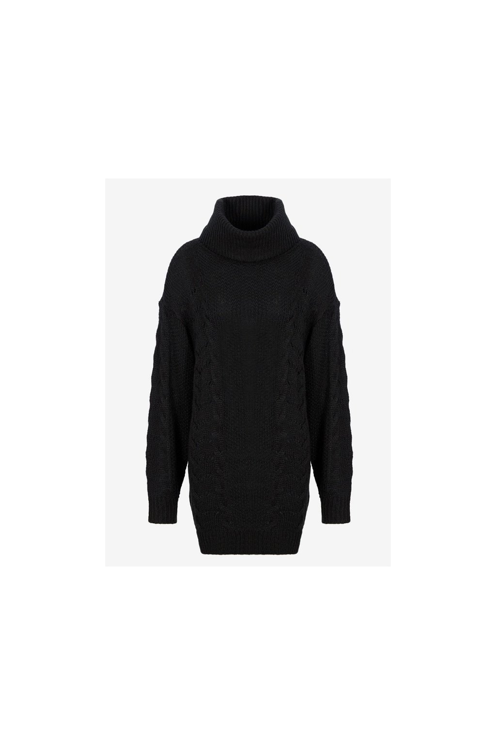 6GYM1Q YMR8Z Dámský mohérový svetr Armani Exchange černý