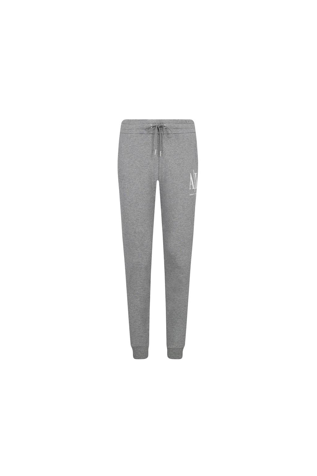 8NYPCX YJ68Z Dámské teplákové kalhoty Armani Exchange šedé