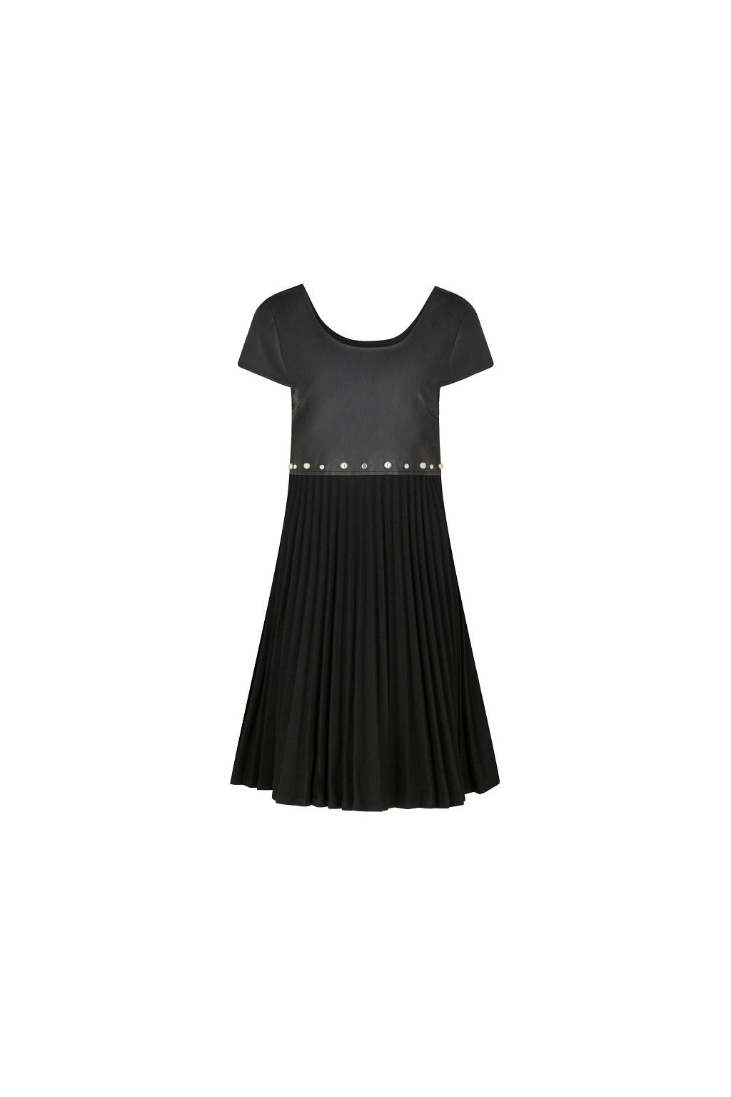 6GYA42 YNQQZ Dámské šaty Armani Exchange černé