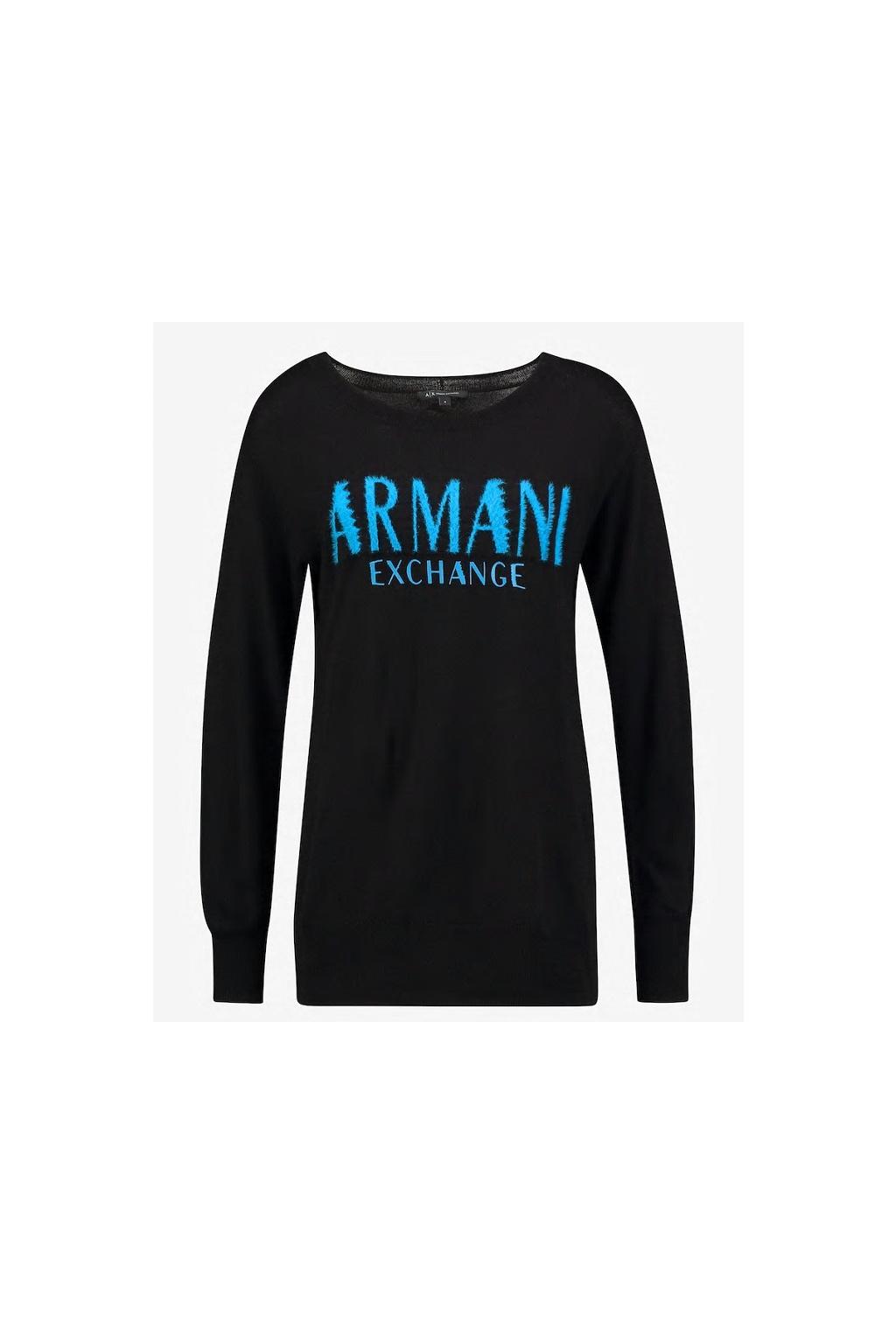 6GYM2C YME3Z Dámský svetr Armani Exchange černý