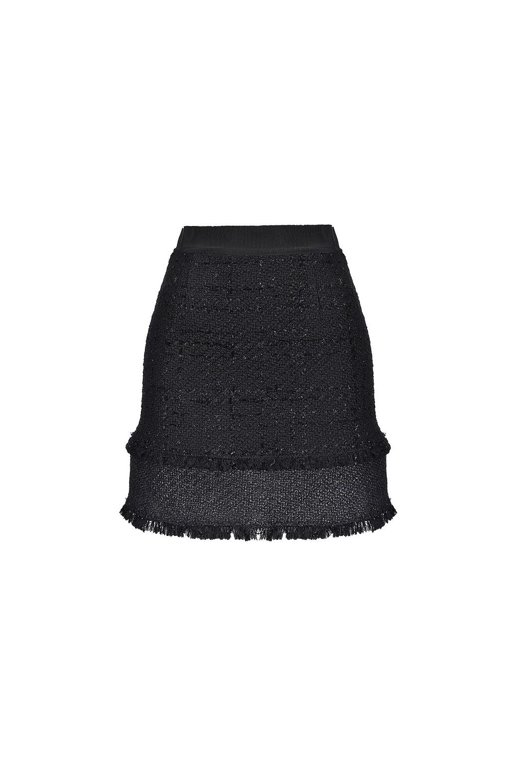 1G14J3 7700 Dámská sukně Pinko Rafforzare černá