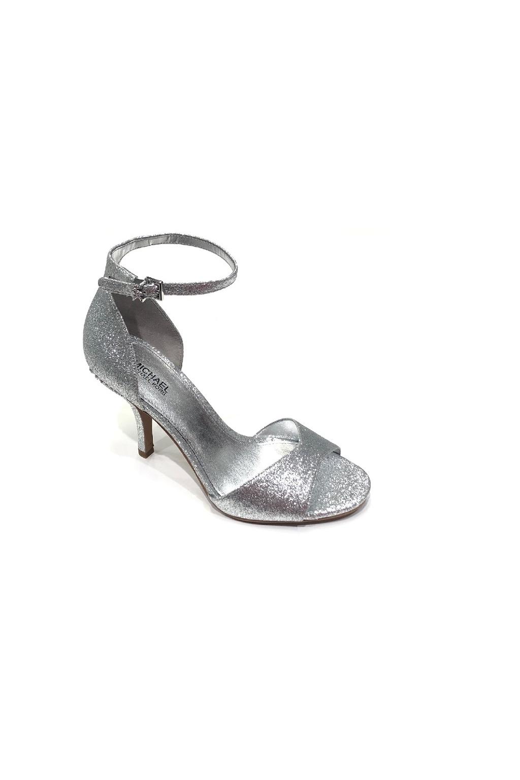 40R0MLHA1D Dámské sandály Malinda Pixie Fine Gliter stříbrné