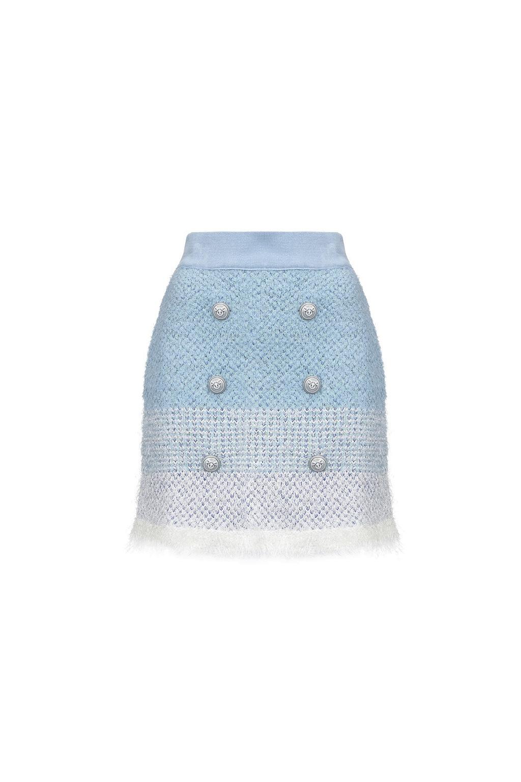 1G14M7Y65P ZGE Dámská sukně Pinko Remora bílo modrá