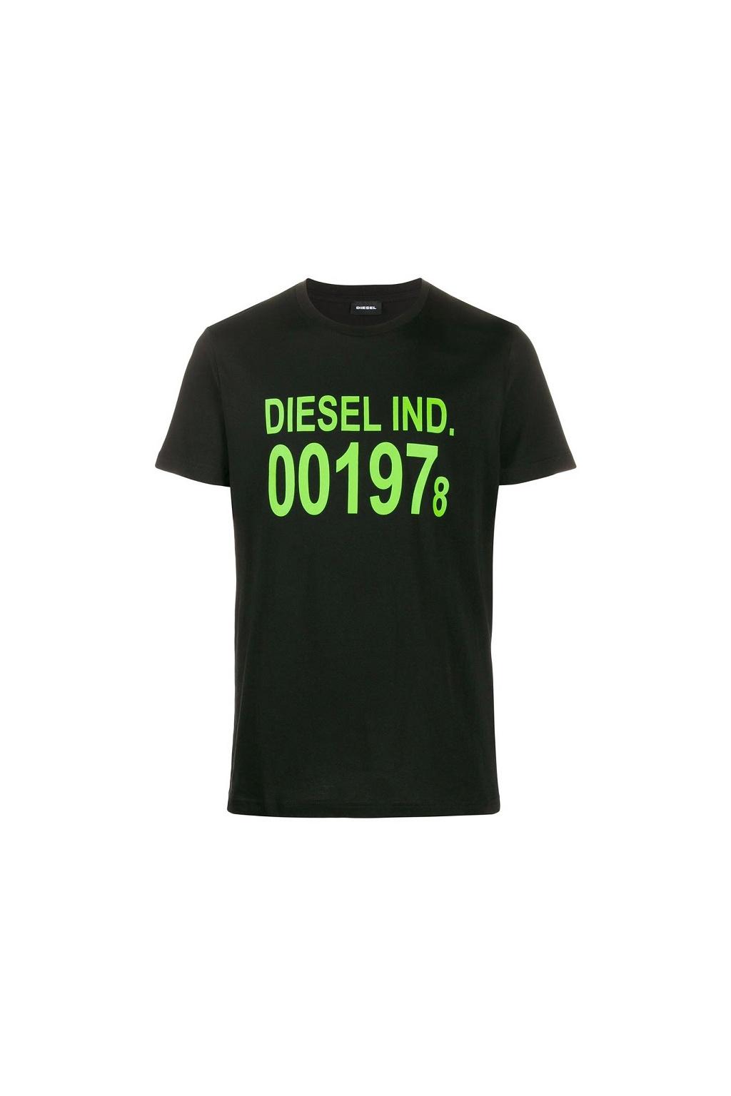 00SASA 0AAXJ Pánské tričko Diesel T Diego černé