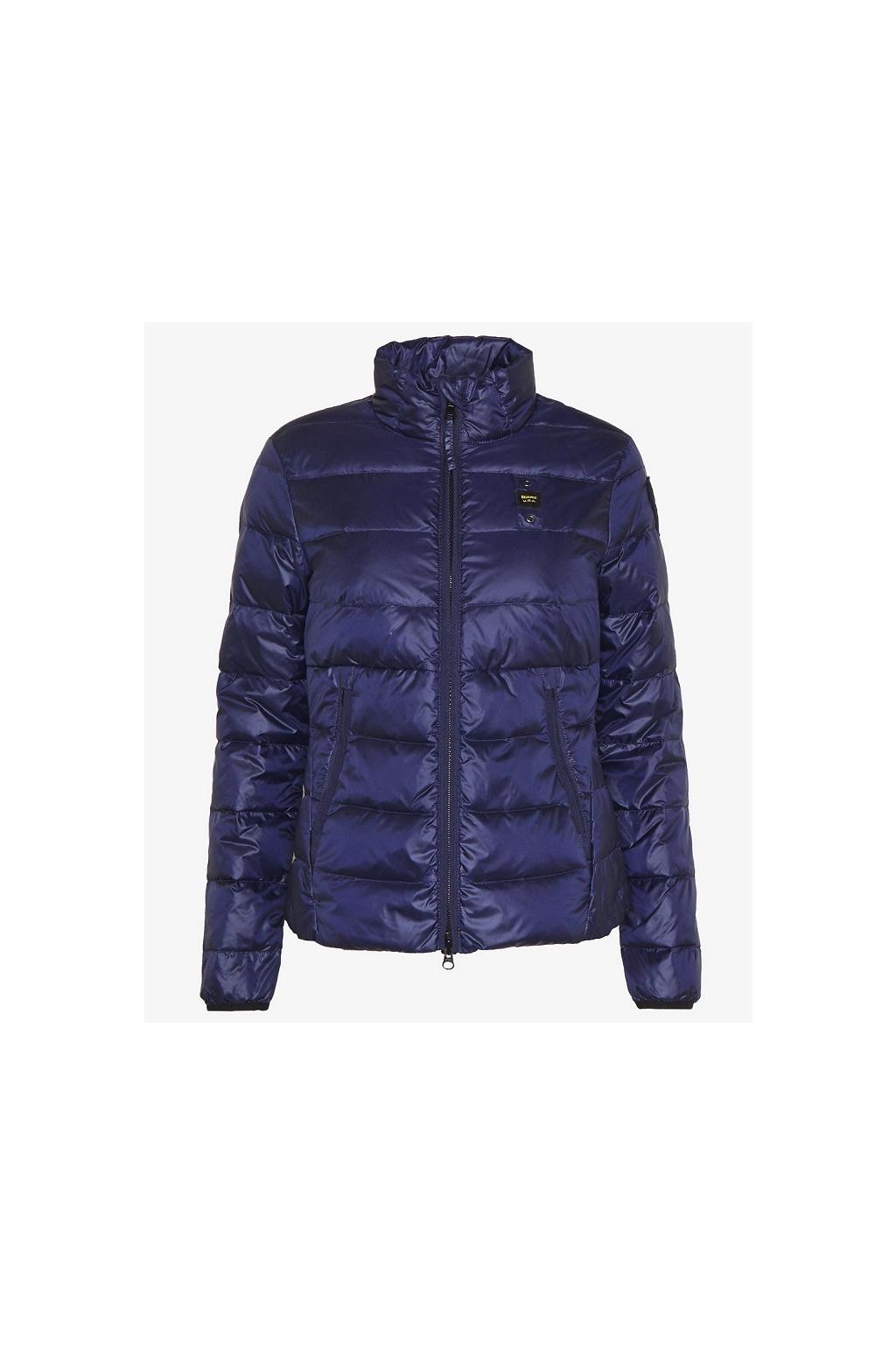 20SBLDC0 3029 Dámská bunda Blauer péřová modrá