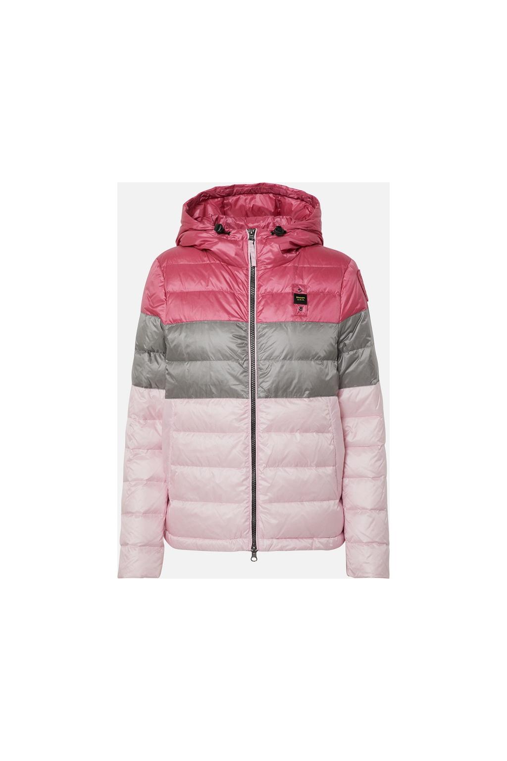 20SBLDC03143 Dámská bunda Blauer péřová růžová