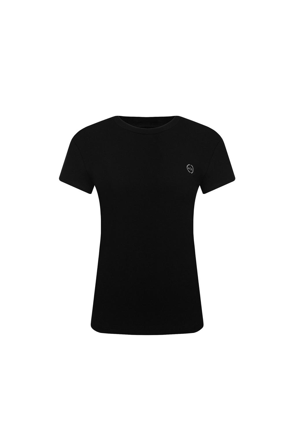 8NYT74 Y8C7Z Dámské tričko Armani Exchange černé