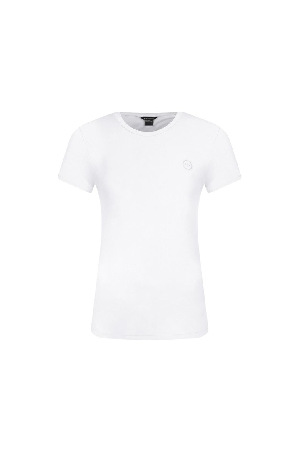 8NYT74 Y8C7Z Dámské tričko Armani Exchange bílé