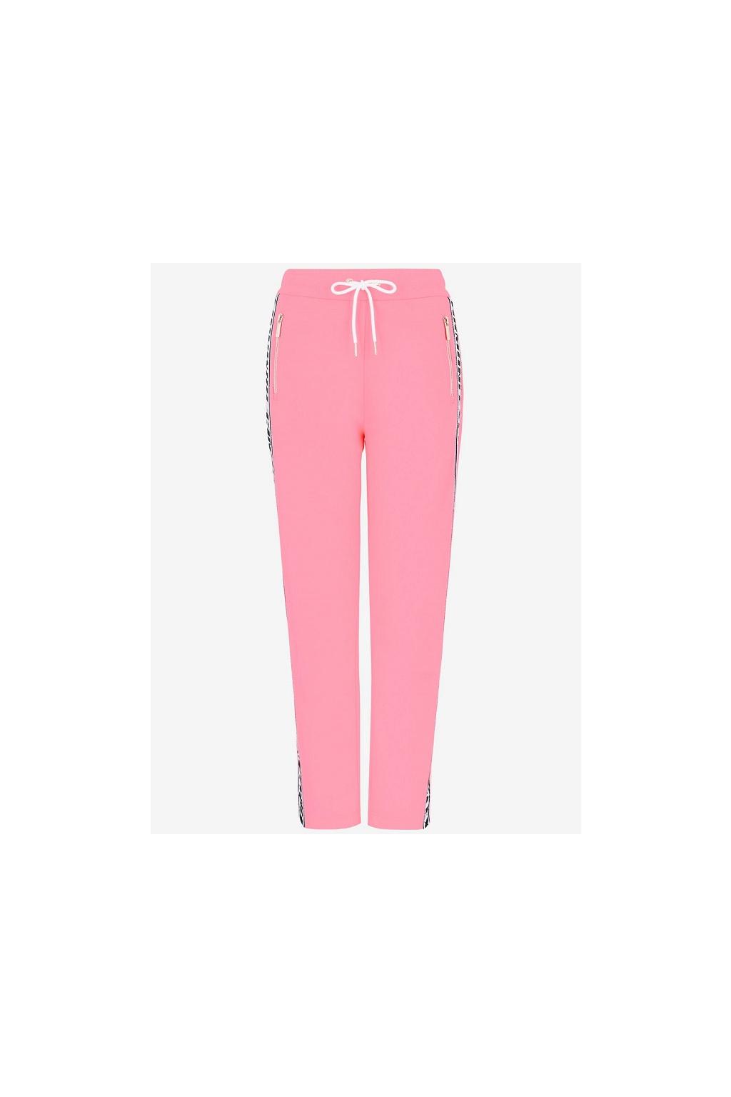 3HYP84 YJ52Z Dámské kalhoty Armani Exchange Logo růžové