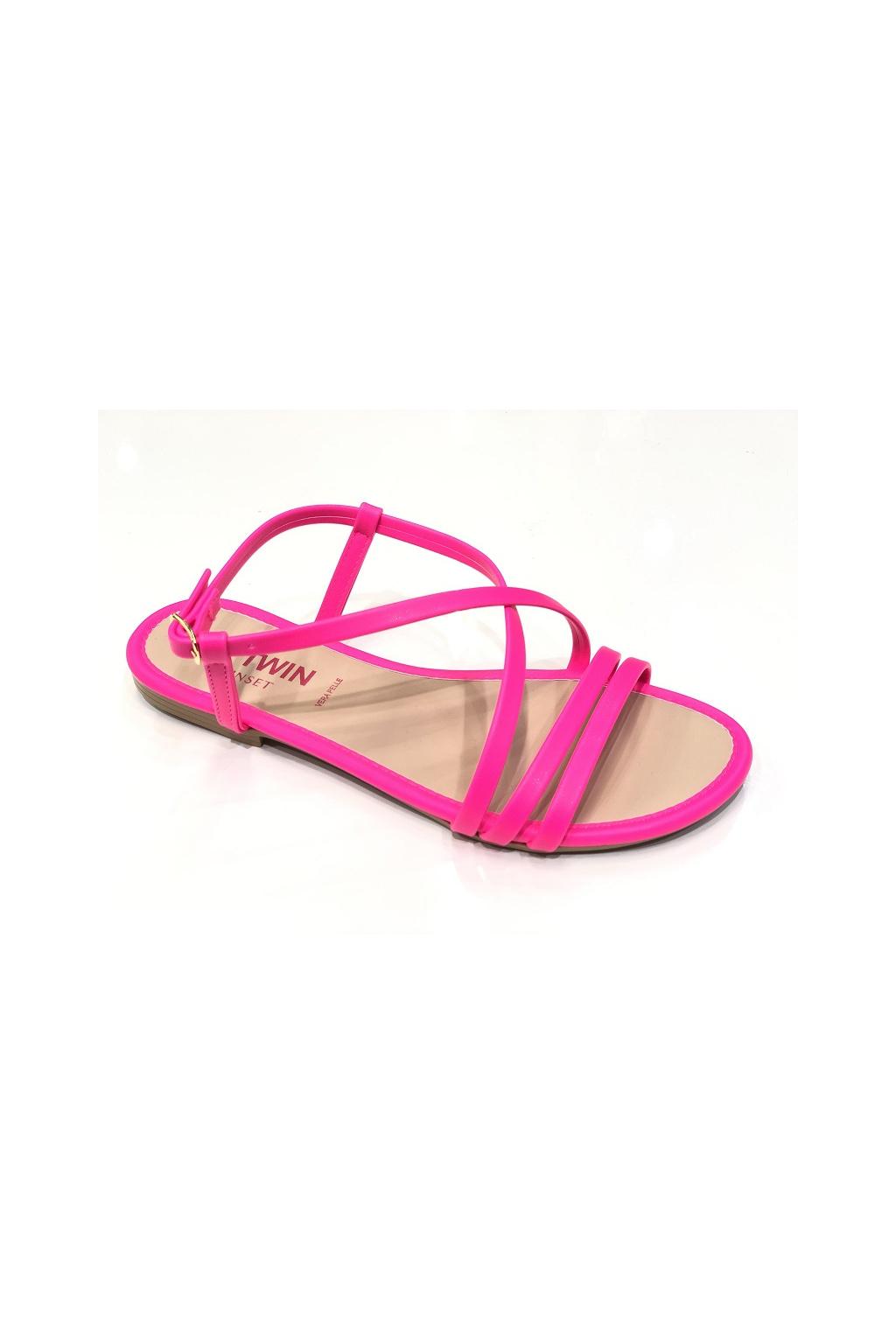 201MCT010 Dámské sandály Twinset růžové