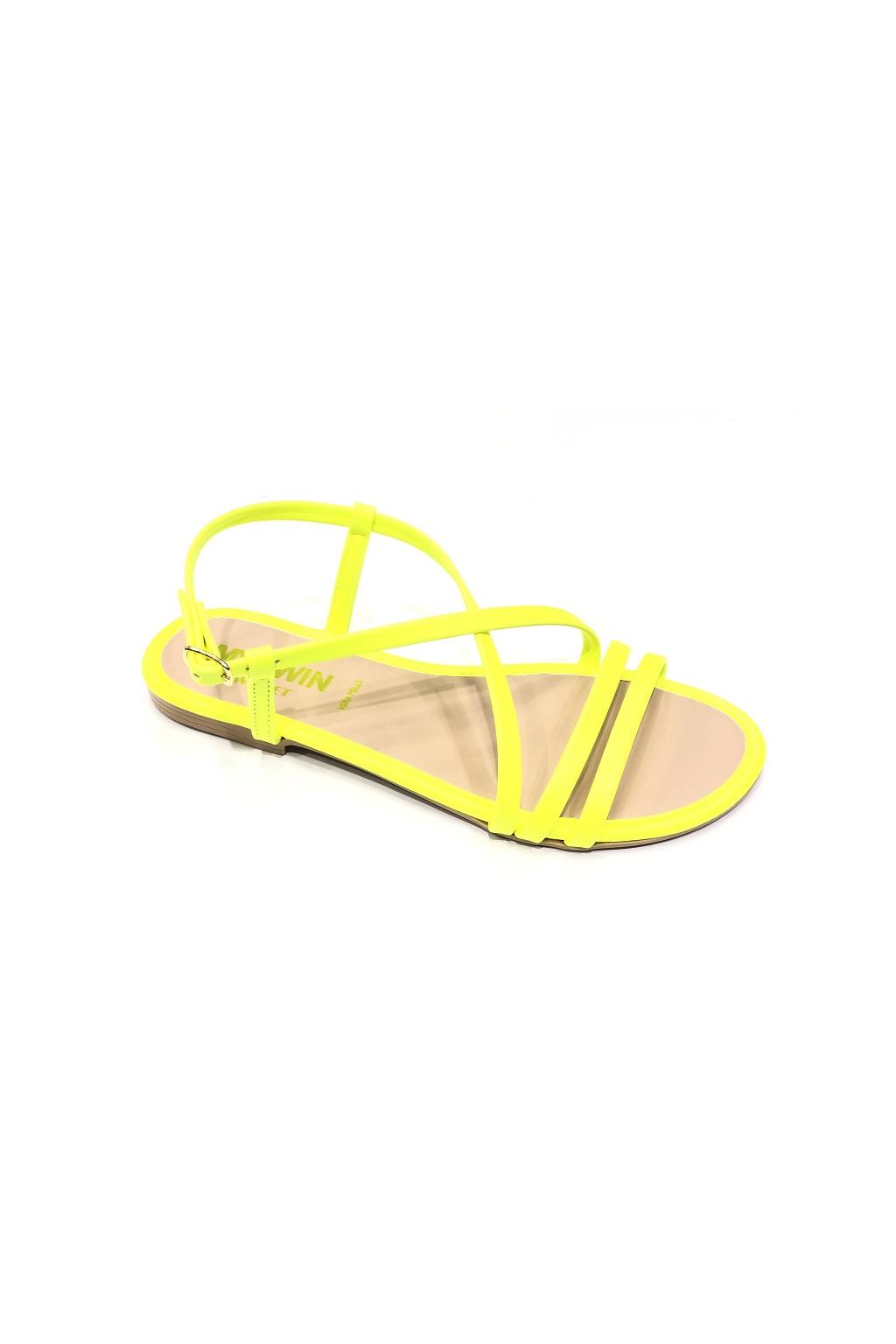 201MCT010 Dámské sandály Twinset žluté