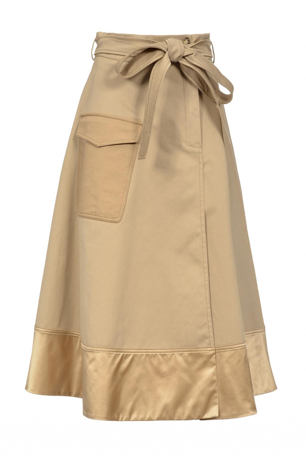 1B14CZ7975 Dámská sukně Pinko Paragas béžová