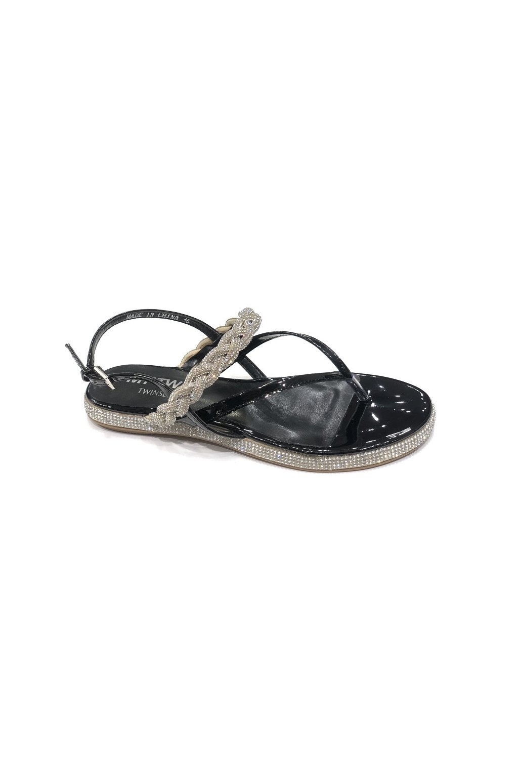 201MCT03E Dámské sandály Twinset černé