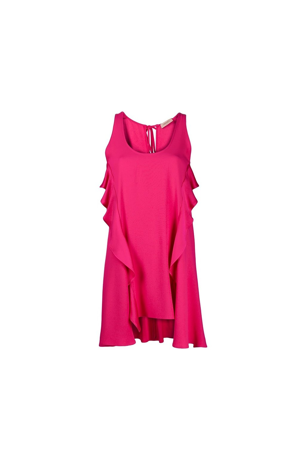 201TP2432 Dámské šaty Twinset růžové