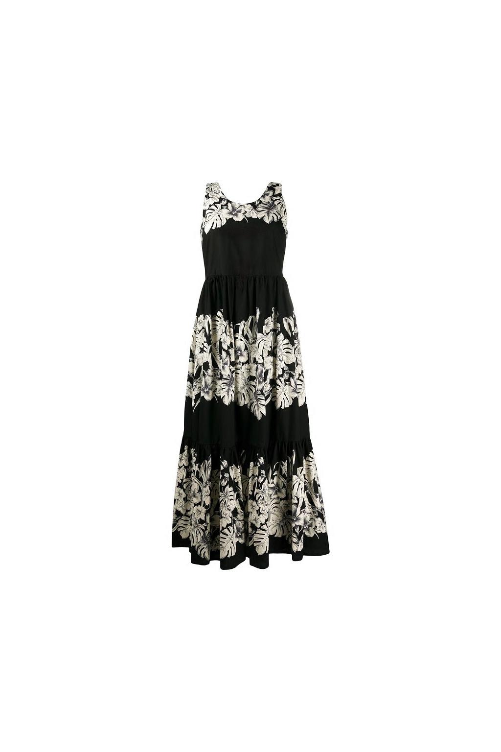 201TT2313 Dámské šaty Twinset černé