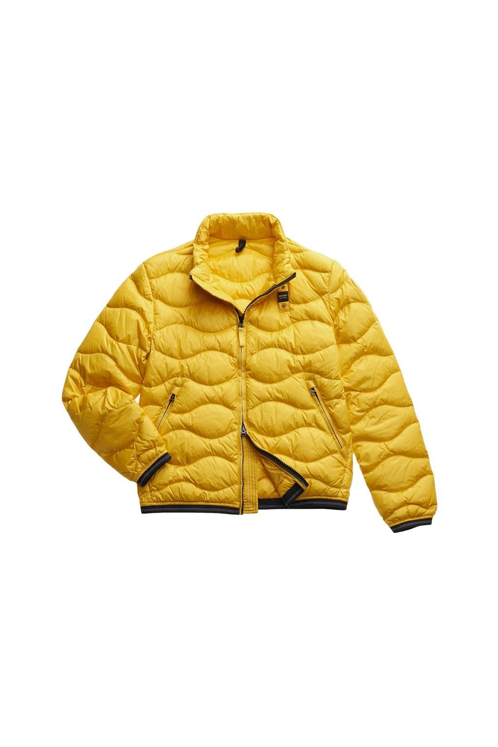 20SBLUC03033 Pánská bunda Blauer péřová žlutá