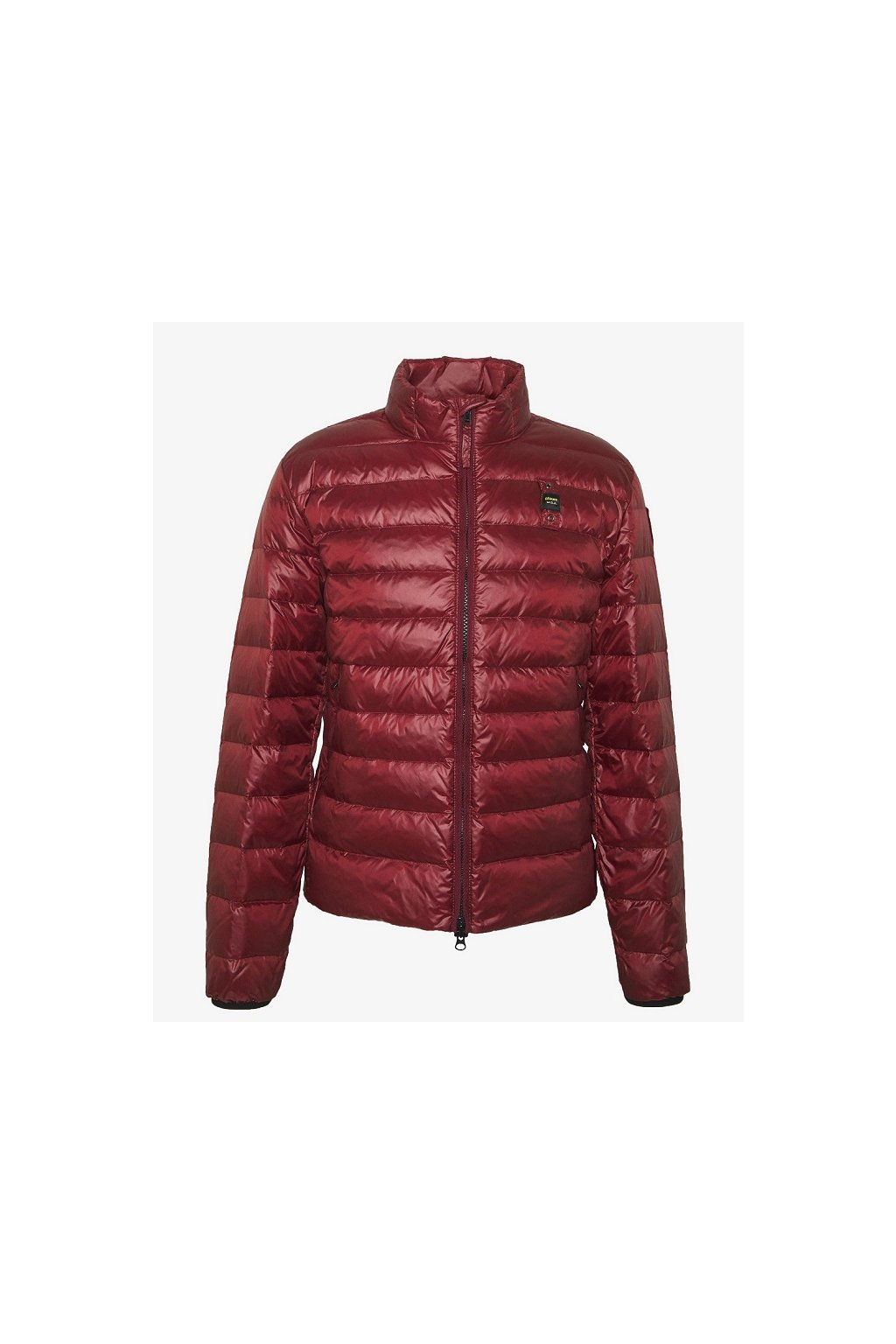 20SBLUC03031 Pánská jarní bunda Blauer péřová červená