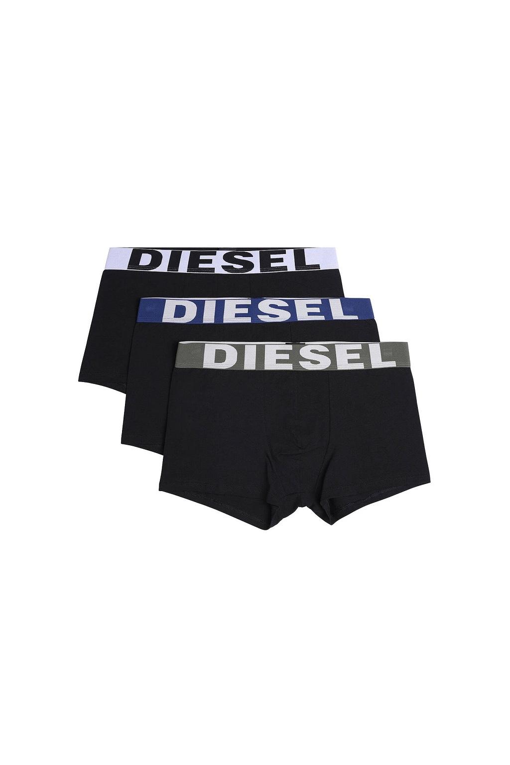 00SAB2 0GAPG Diesel boxerky Umbx Shawnthreepack 3Pack černé