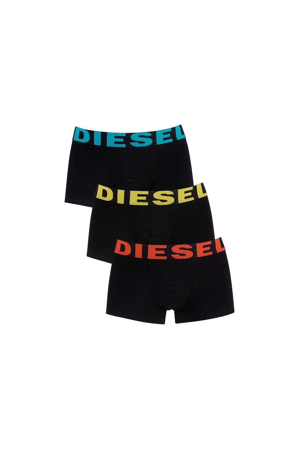 00SAB2 0GAPG Diesel boxerky Umbx Shawn 3Pack černé