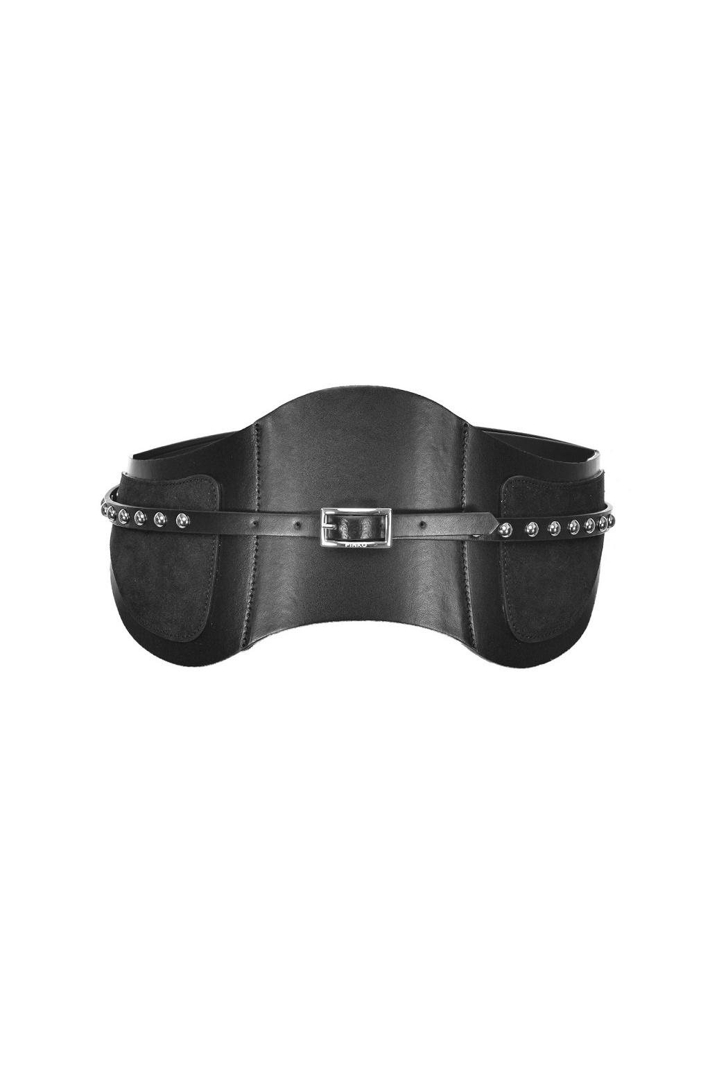1H20SW Y6GK Dámský pásek Pinko Gufare černý