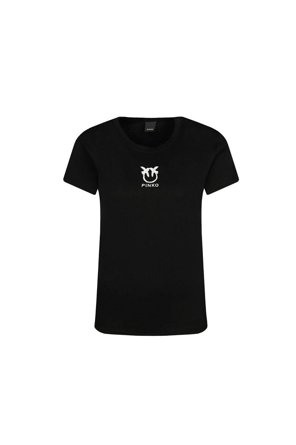 1G1619 Y651 Z99 Dámské tričko Pinko Bussolano 3 černé