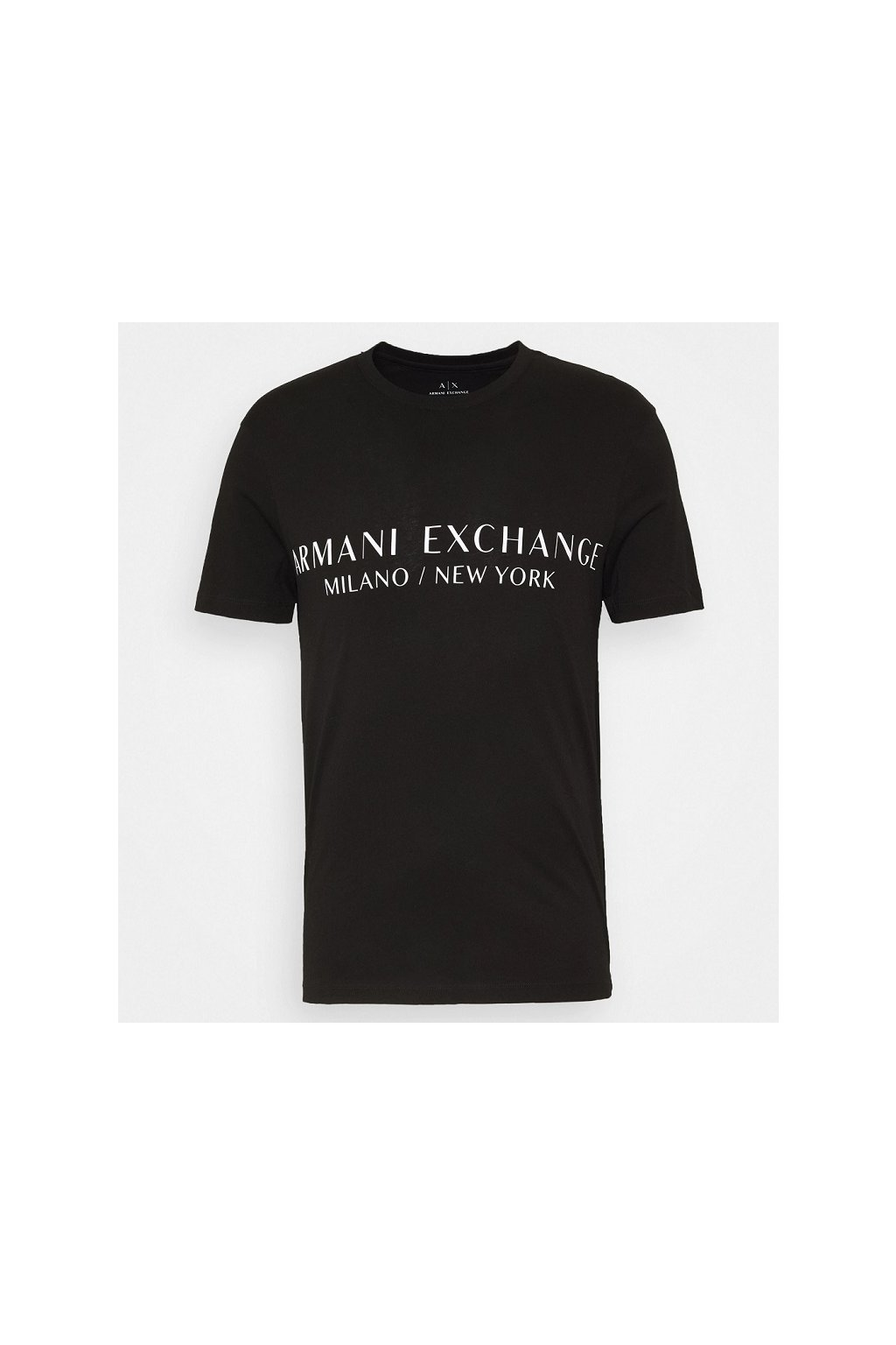 8NZT72 Z8H4Z Pánské tričko Armani Exchange černé