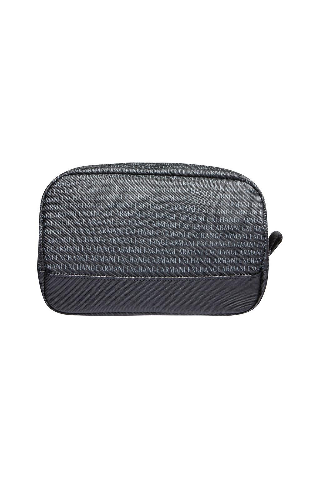 958096 CC012 Pánská toaletní taška Armani Exchange černá