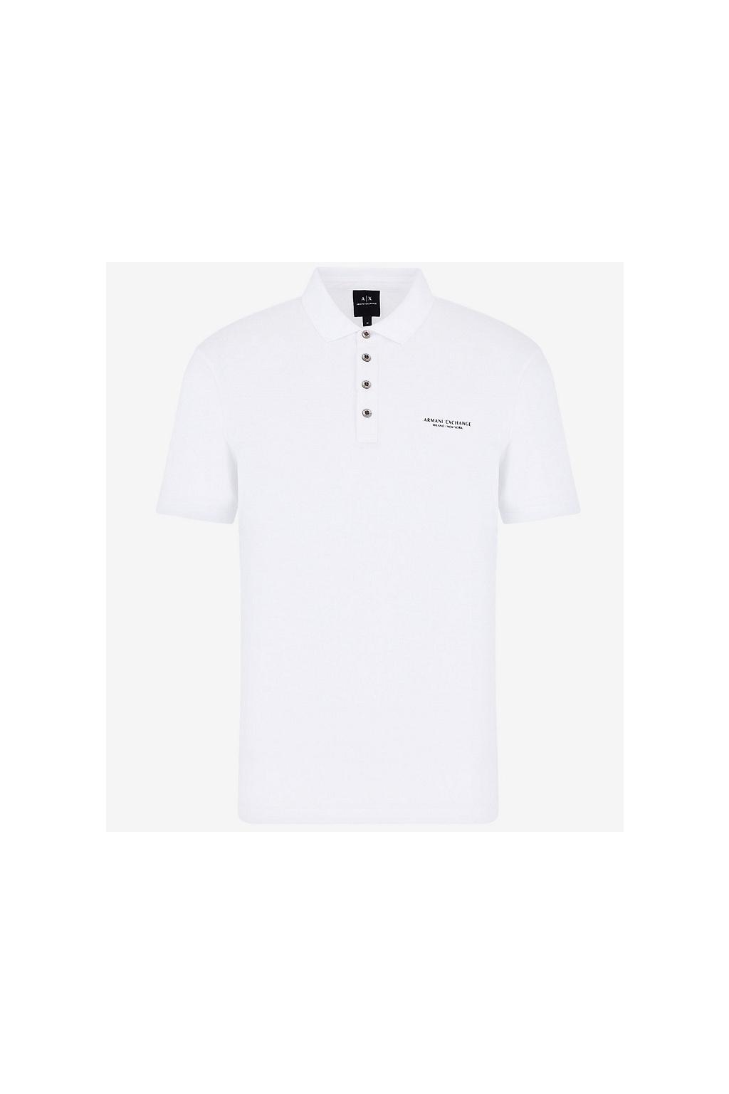 8NZF80 Z8H4Z Pánské tričko Armani Exchange bílé
