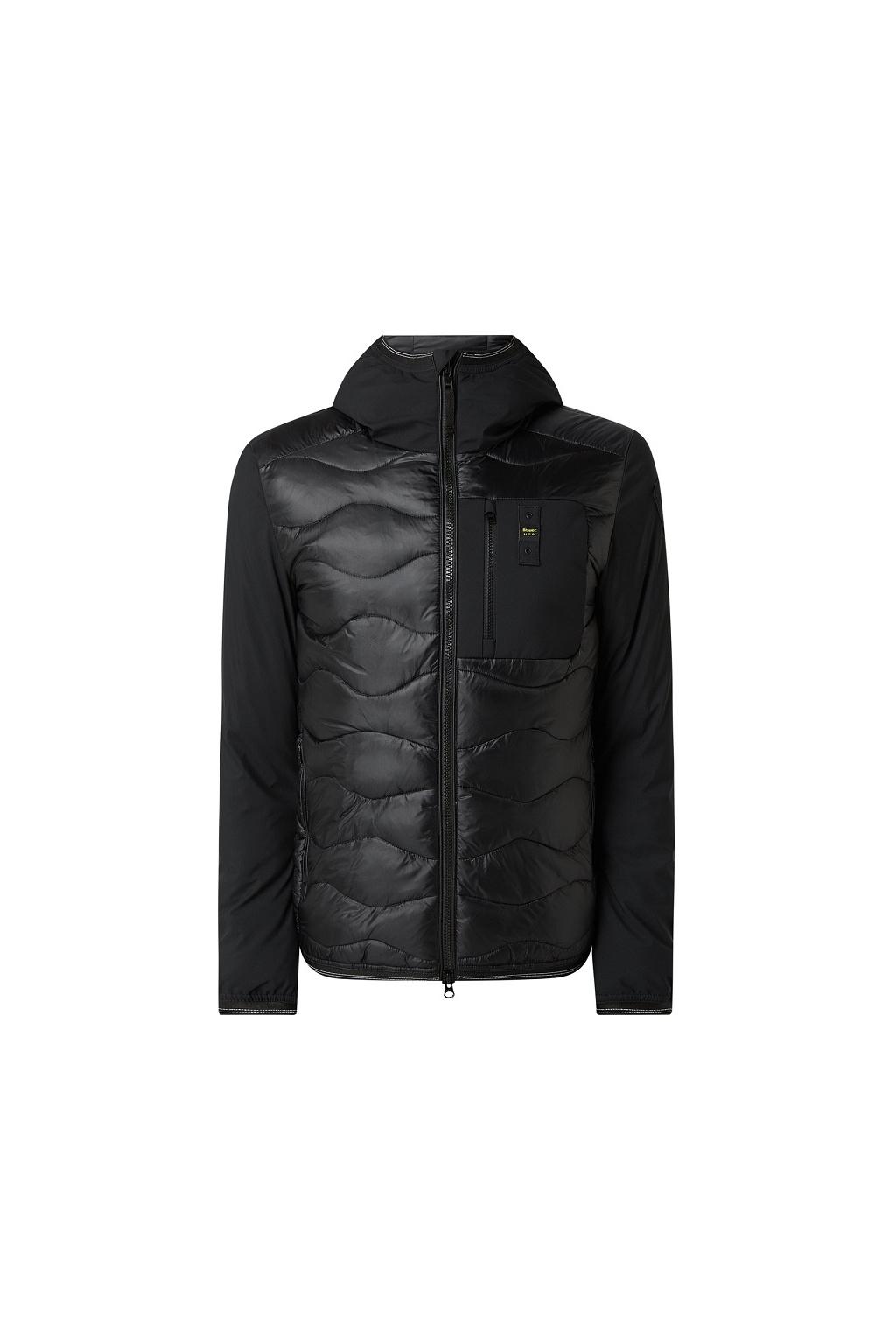 20WBLUC08105 Pánská péřová bunda Blauer černá