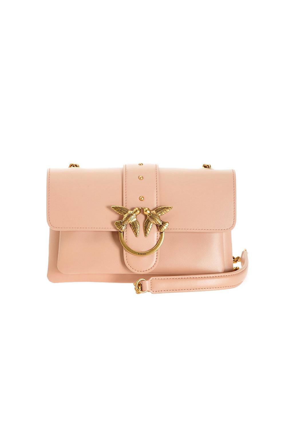 1P21SKY6JC Q19 Dámská kabelka Pinko Love Mini Soft Simply Cl růžová