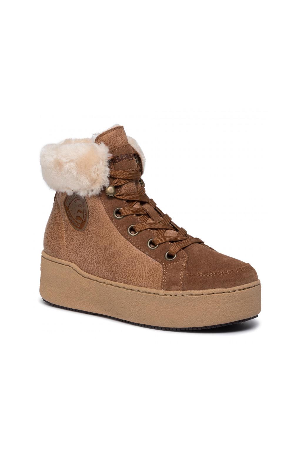 Dámská obuv Blauer Madeline hnědá F0MADELINE04