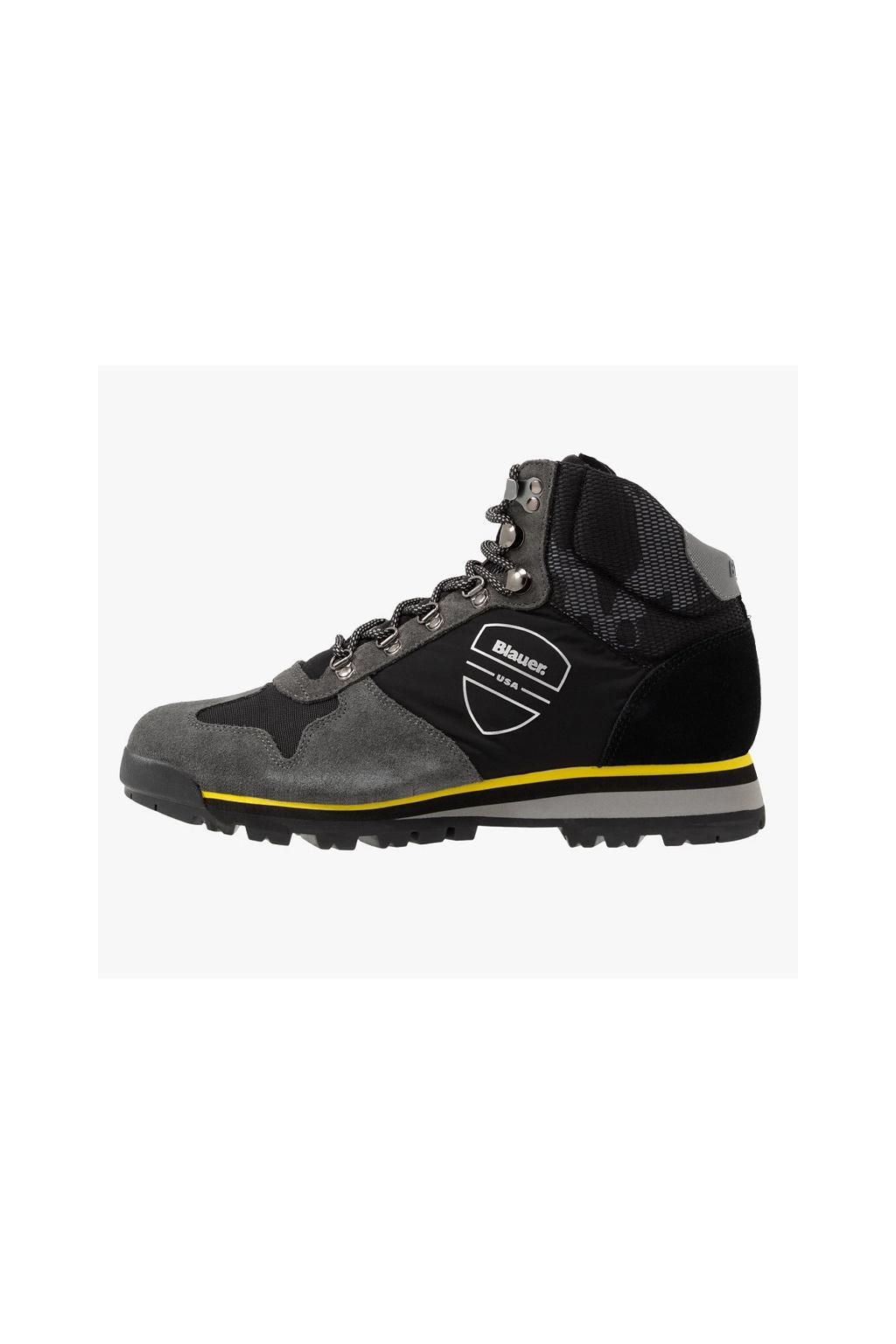 F0AKRON01 Pánská obuv Blauer Akron černá
