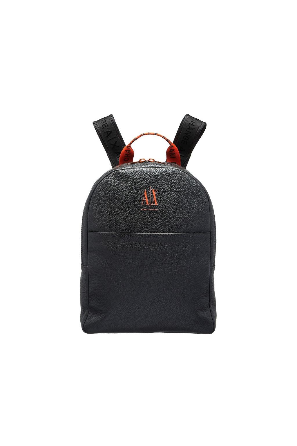 952287 0A867 Pánský batoh Armani Exchange černý