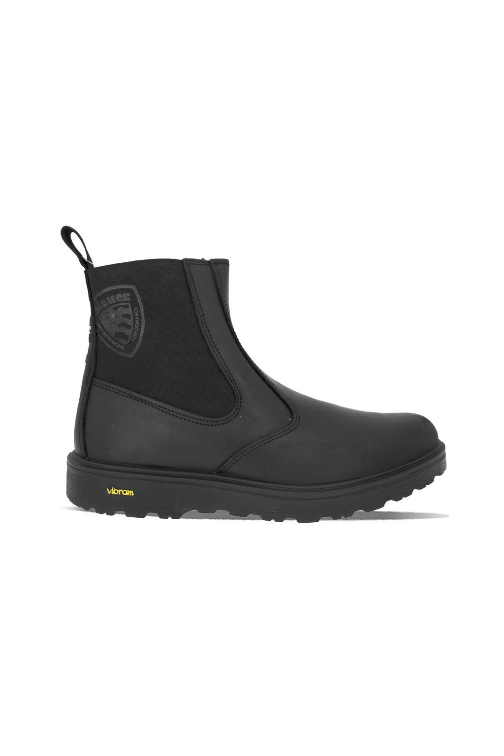 F0GUANTANAMO07/LEA Pánská obuv Guantanamo Blauer černá